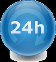 24h, 24horas, 24 horas